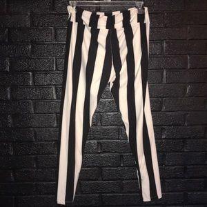 LuLaRoe Pants - LuLaRoe Tall & Curvy striped leggings